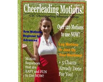 Mature cheerleader fast motion