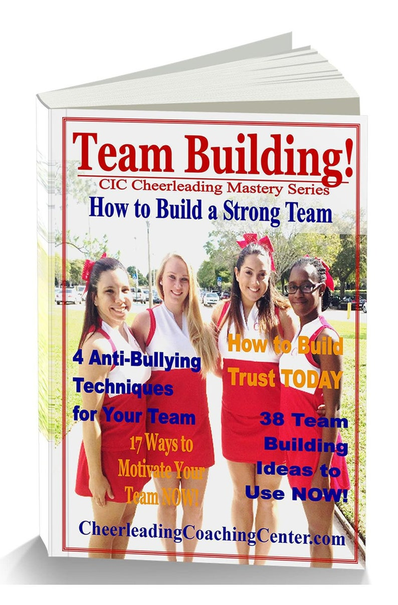 Cheerleading Team Building Ebook Cheerleading Coach Etsy