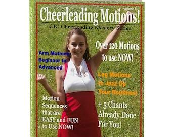 Cheerleading Motions Ebook, Volume 1 - CIC Cheerleading Mastery Series