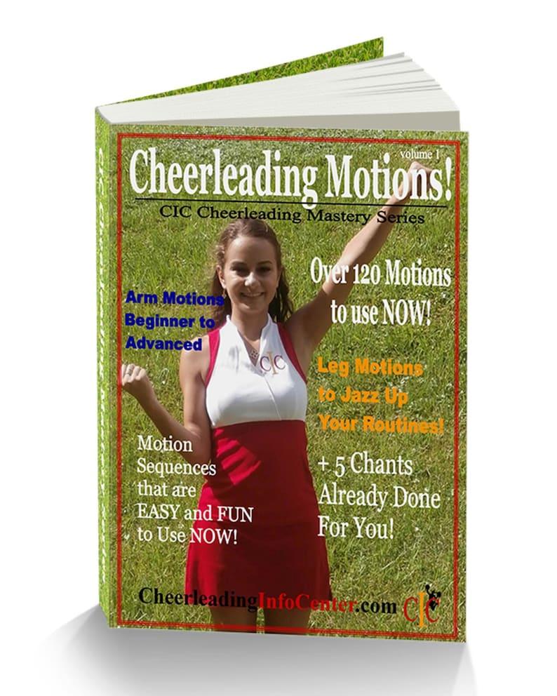 Cheerleading Motions Ebook Volume 1  CIC Cheerleading image 0