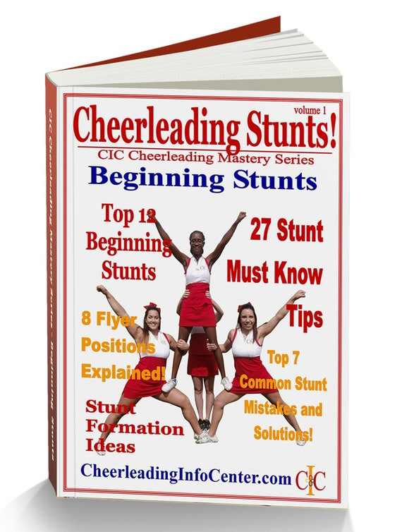 Cheerleading beginning stunts ebook cheerleading coach cheer etsy image 0 fandeluxe Choice Image