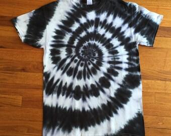 Black & White Tie Dye T-shirt