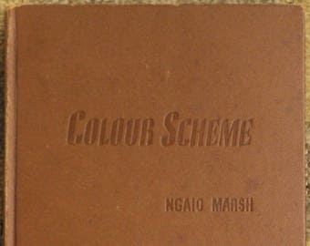 Colour Scheme | Ngaio Marsh (1943, Little, Brown and Company)