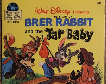 Walt Disney Presents: The Story of Brer Rabbit and the Tar Baby (33 1/3 RPM, Disneyland Records, 1971)