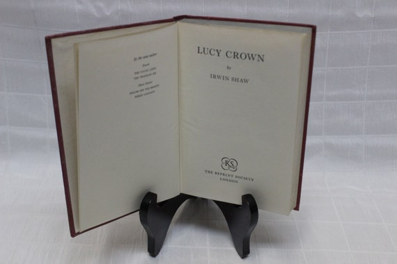 Irwin Shaw Lucy Crown 1956 Publication Etsy