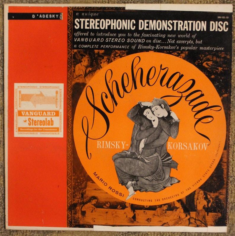 Scheherazade   Rimsky-Korsakov (Vanguard Stereolab, SRV-103-SD)