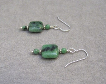 Ruby in Zoisite Earrings - g0872e01