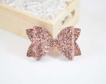 Rose Gold Hair Clip Etsy