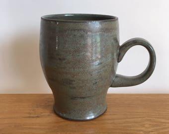 Gray Blue Ceramic Mug