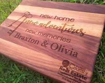 realtor closing gift real estate closing new homeowner gifts housewarming gift real estate advertising naked wood works
