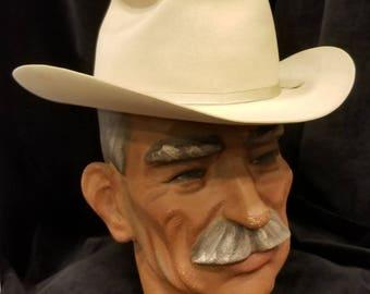 Vintage Stetson 100 Men s Hat - John B. Stetson - Stetson One Hundred ~  Rare ~ Open Road ~ 7 1 8 - Super L  k!!! 0677a281309