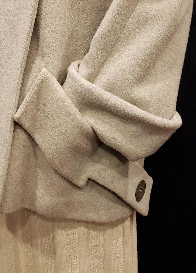 Beautiful ~ Grey ~ Wool ~ Swing Coat ~ Princess  ~ Incredible Lines ~ Flattering Style ~ WOW!!!