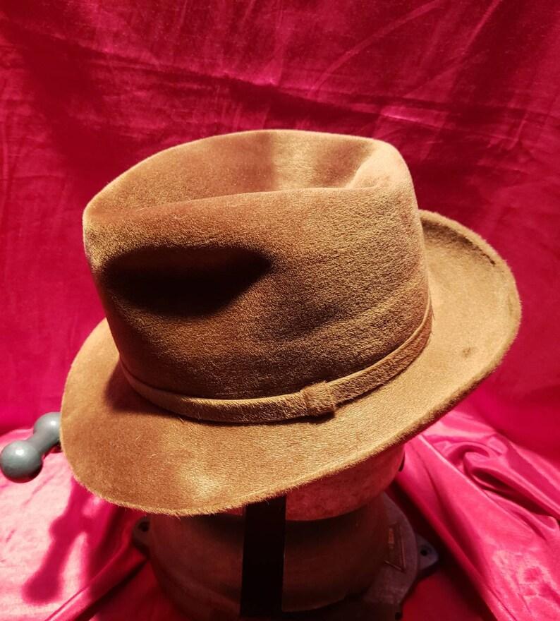 b8be9c61 Vintage Men's Hat Fedora Stetson Twenty Fuzzy | Etsy