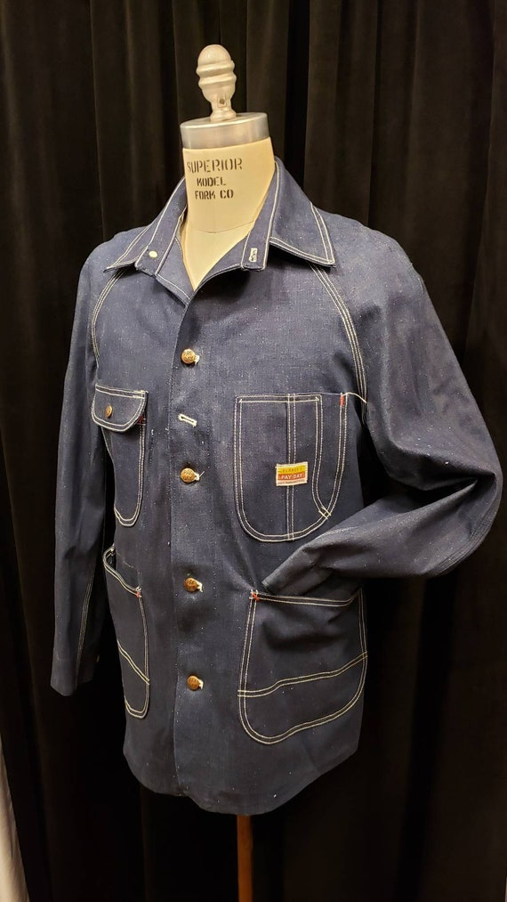 Men's ~ Vintage ~ Penney's ~ Pay Day ~ Chore Jacke