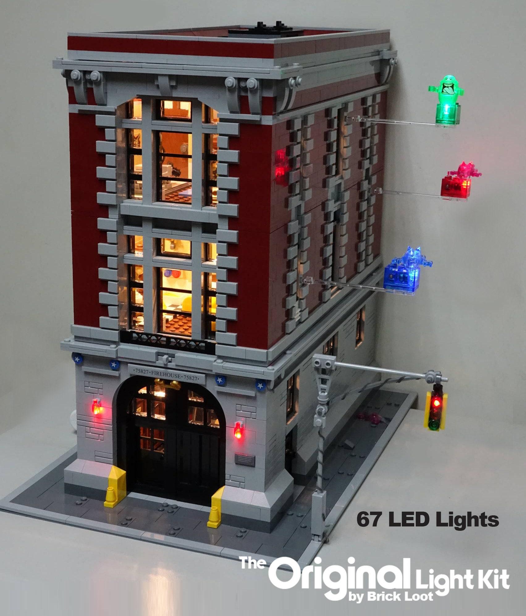 LED-Beleuchtung-Kit für LEGO Ghostbusters Feuerwache Hauptsitz | Etsy