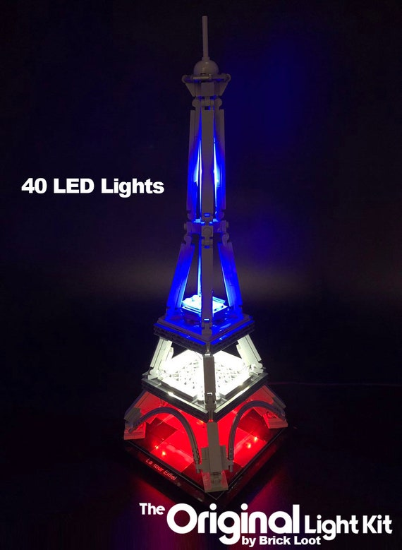 Led Lighting Kit For Lego 21019 Architecture The Eiffel Tower Etsy