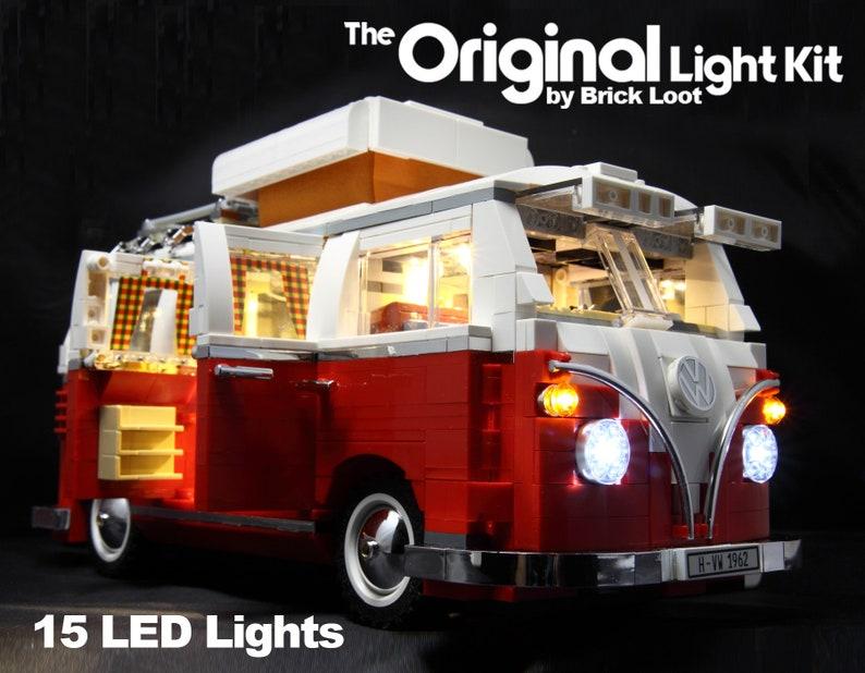 Kit D 233 Clairage Led Pour Lego 10220 Vw Camper Etsy