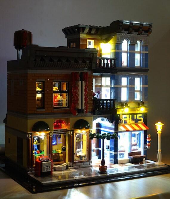 Office lego Man Image Etsy Led Lighting Kit For Lego 10246 Detectives Office Etsy