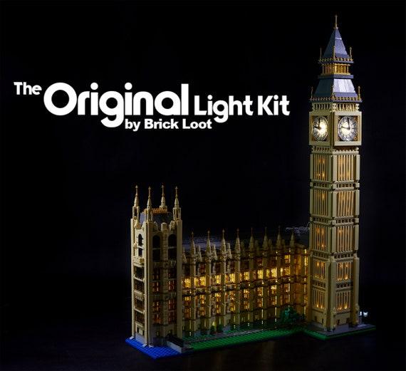 Licht//Beleuchtungs-Set für LEGO Big Ben 10253