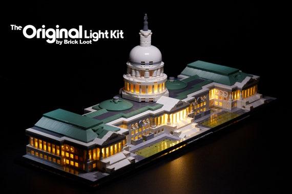 USB Powered LED Light Kit for Lego 21030 United States Capitol Building