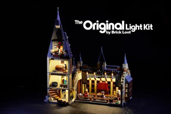 Led Lighting Kit For Lego Harry Potter Hogwarts Great Hall Etsy