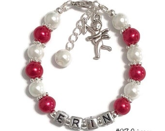 329d11d840 Personalized Cupid Love Charm Bracelet-Cupid Gift-Valentine's Gift-Gift For  Her-Cupid Jewelry-Gift For Girlfriend-Friendship Bracelet