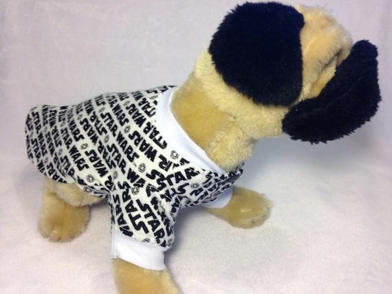 Dog Pet Rabbit Cat Pig Gray and White Quatrefoil XS-M Flannel Pajamas PJ/'s Night Shirt Pomeranian Chihuahua Maltese Shih Tzu