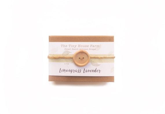 LEMONGRASS LAVENDER, Handmade Soap,Homemade, Soap,Bar Soaps, Castile Soap,  Sensitive Skin,Mother's Day Gift,self care