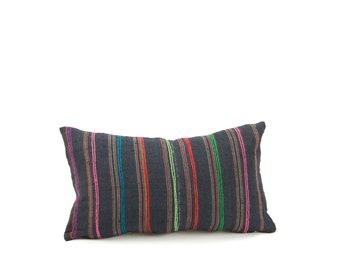 "12x18"" Vintage Hmong Pillow Cover"