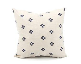 "20x20"" Asian Textile Pillow Cover"