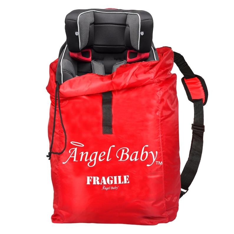 3ef99a268ef Car Seat Travel Bag Kids Travel Bag Red Car Travel Bag Red | Etsy