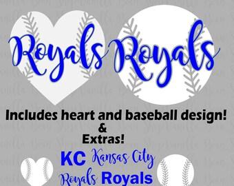 Kansas city royals svg | Etsy