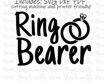 Ring Bearer Svg Etsy