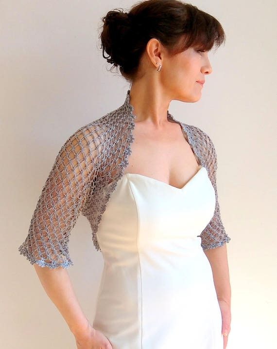 Petite bolero or shrug evening 7