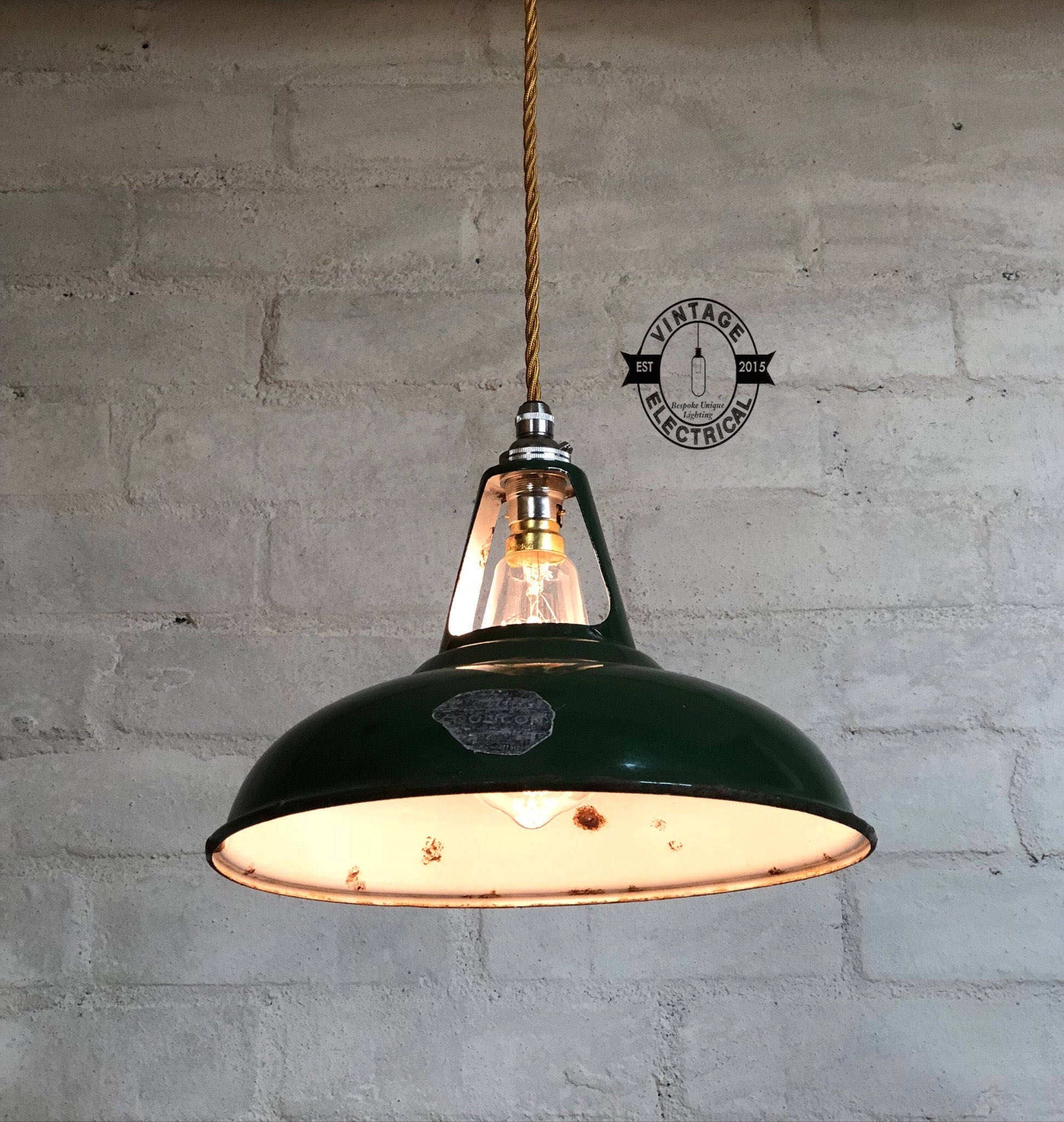 S Industrial Coolicon Factory Solid Shade Light Ceiling Dining - 1930's kitchen light fixtures
