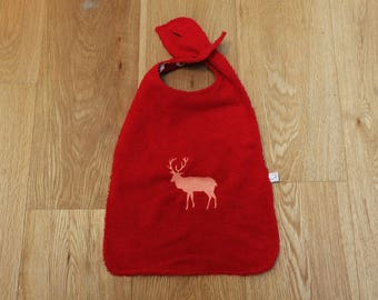 XL bib - red deer