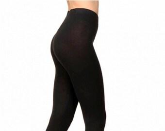 83e6b64845ae5 Merino Cashmere Wool Leggings Soft Thin Wool Tights Knit Winter Christmas  Gift Yoga Dance Tai Chi for Woman Merino Warm Leggings