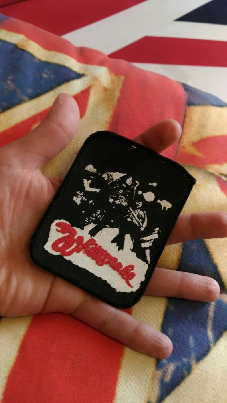 """ROCK METAL MUSIC SEW ON /& IRON ON PATCH:- MEATLOAF /""""BAT OUT OF HELL/"""" POP PUNK"""