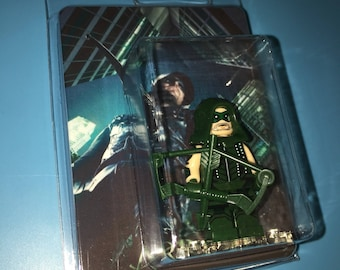 ARROW of CW Oliver Queen DC Universe Custom Failed this City Tv Minifigure
