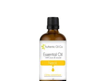 Neroli Essential oil 100% Pure 10ml 50ml 100ml