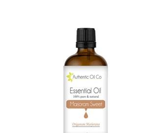 Marjoram Essential Oil 100% Pure 10ml 50ml 100ml