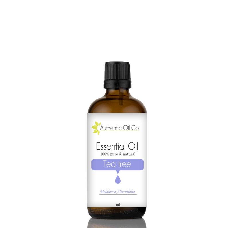 Tea Tree Essential Oil 100% Pure 10ml 50ml 100ml 250ml 500ml 1 image 0