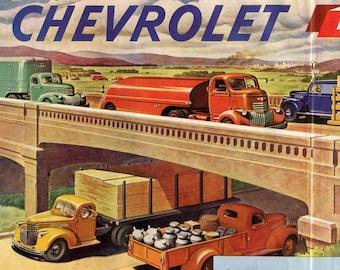 Chevrolet Trucks Ad from 1945 (PO-45-002)