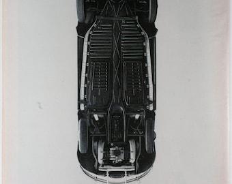 Vintage 1966 VW Beetle Ad (65LIFE-12)