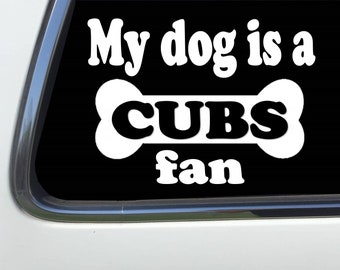 CW3262 I Was a Cubs Fan Before It Was Cool  Sticker Decal FREE SHIPPING Chicago