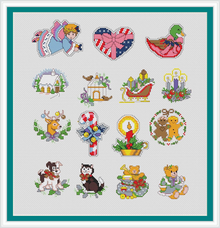 Christmas Cross Stitch Patterns New Design