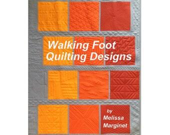 Walking Foot Quilting Designs
