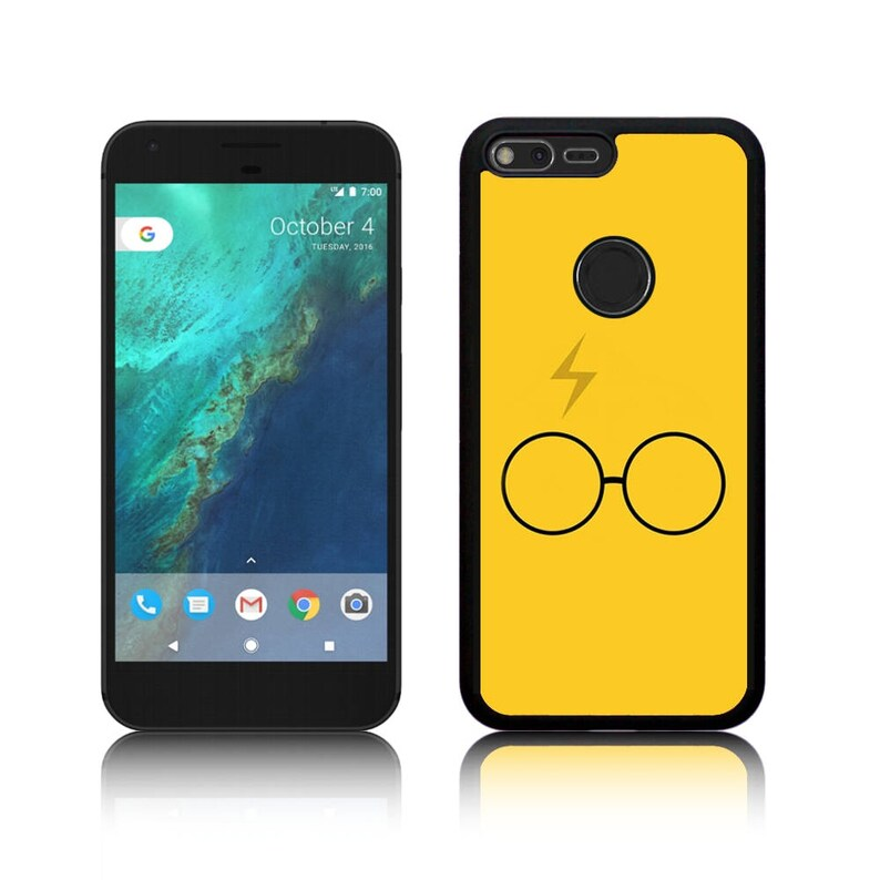 Harry Yellow Scar And Glasses Google Pixel Pixel Xl Pixel 2 Pixel 2 Xl Pixel 3 Pixel 3 Xl Silicone Case Cover
