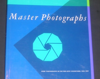 Master Photographs from PFA Exhibitions 1959-1967, HB/DJ, 1988, 1st Edition, 130 Photographers, 187 Photos, Vintage Art Photography Book