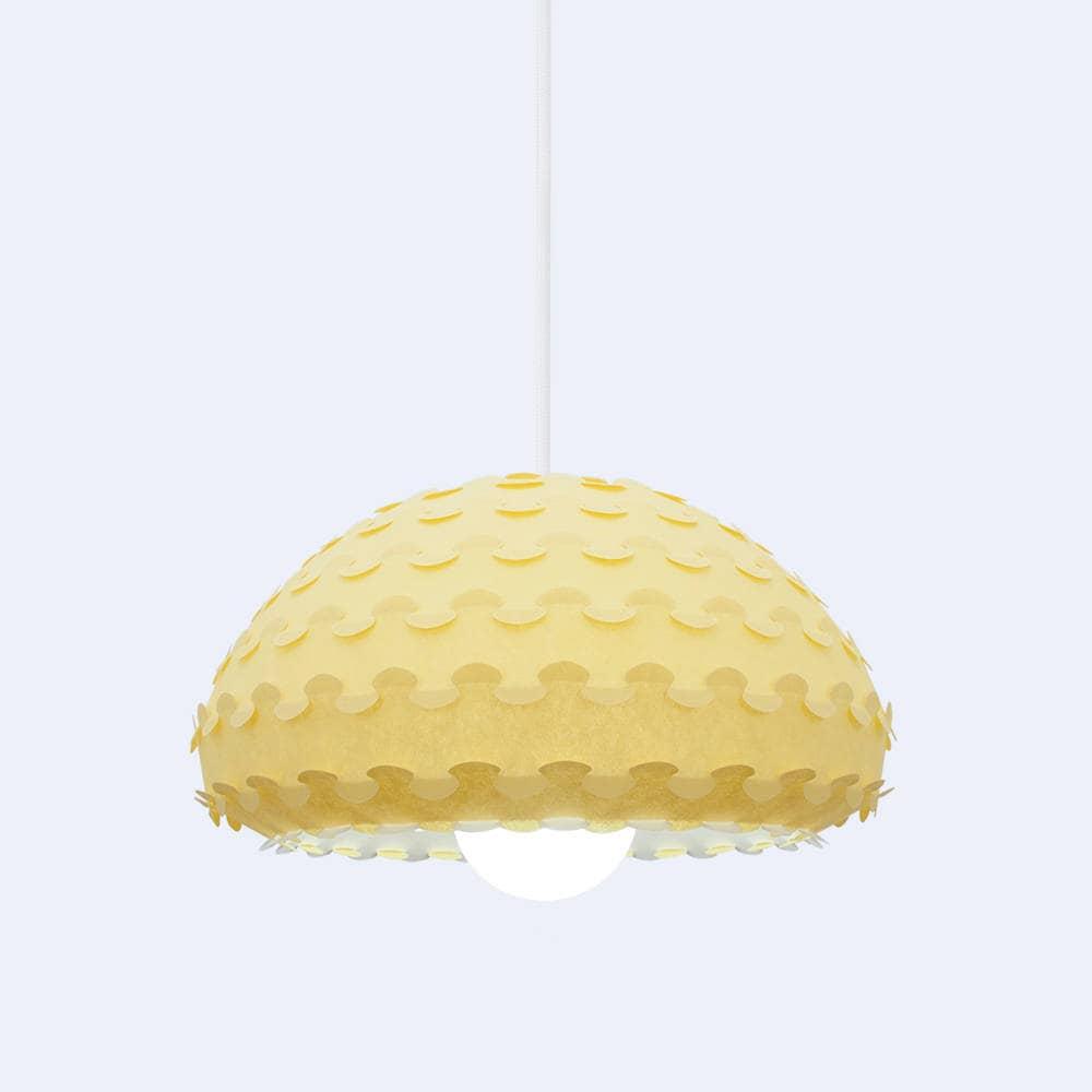 Yellow Pendant Lamp Shade Kasa Y Light